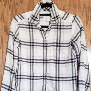 American Eagle Plaid Flannel in XS